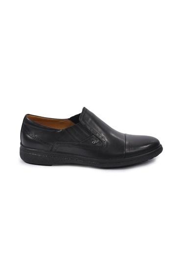 Dr.Flexer Dr.Flexer 018002 N Kalınlığı Yaklaşık 3 Cm Ki Deri Erkek Günlük Ayakkabı Siyah